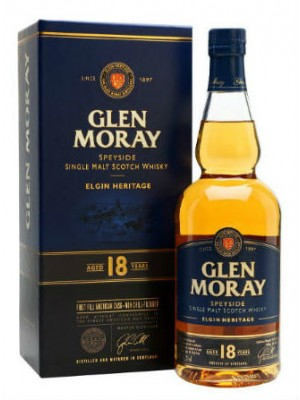 Glen Moray 18yr Single Malt Speyside 47.2% ABV 750ml