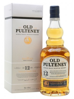 Old Pulteney 12 Year Single Malt Scotch Whisky 43% ABV 750ml