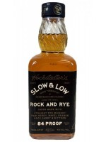 Slow & Low Rock and Rye 42% ABV 750ml