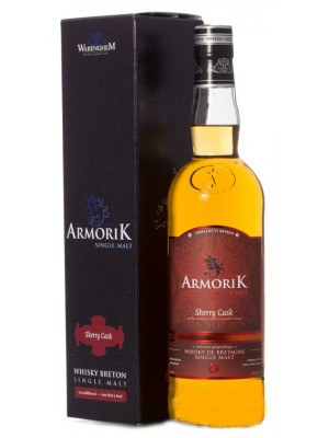 Armorik Sherry Cask Single Malt Whisky Breton 46% ABV 750ml
