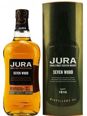 Isle of Jura Seven Wood  Single Malt 42% ABV 750ml
