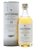Aultmore Speyside Single Malt 12yr  46% ABV 750ml