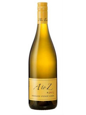 A to Z Pinot Gris Oregon 2015 13.5% ABV 750ml