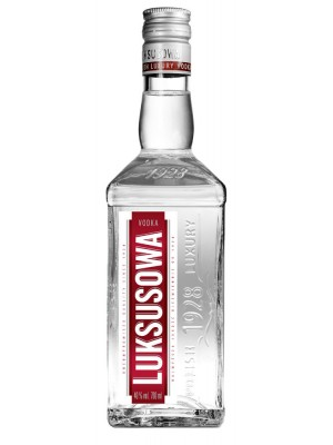Luksusowa Triple Distilled Polish Potato Vodka 40% ABV 750ml