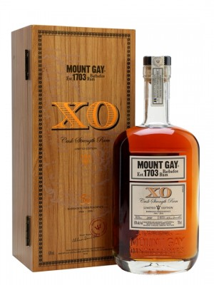 Mount Gay XO Limited Edition Barbados Rum 63% ABV 750ml