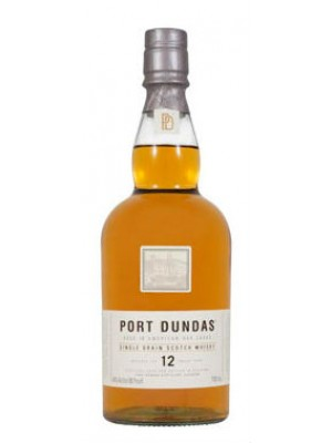 Port Dundas 12yr 40% ABV 750ml