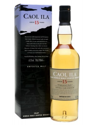 Caol Ila15yr Islay Single Unpeated Malt 61.5% ABV 750ml