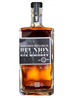 Union Horse Distilling Co.Straight Rye  46.5% ABV 750ml