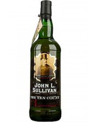 John L. Sullivan 10 Year Irish Whiskey 46% ABV  750ml