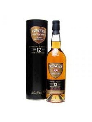 Powers Gold Label 12 year Irish Whiskey 40% ABV 750ml