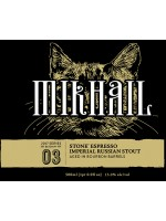 Stone Brewing Mikhail Barrel Aged Espresso Imperial Russian Stout 500ml 13.5% ABV