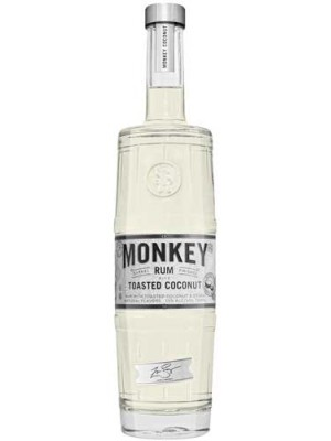 Monkey Toasted Coconut Rum 35% ABV 750ml