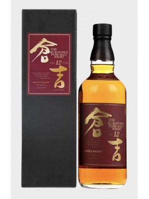The Kurayoshi 12yr Malt Whisky 46% ABV 750ml