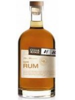 "Cedar Ridge ""Dark Rum"" 750ml."