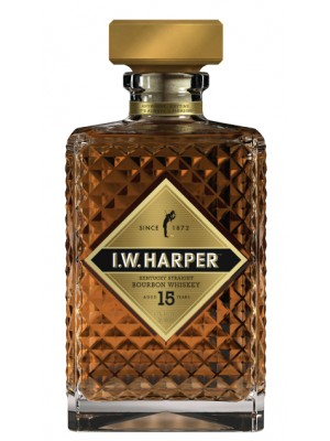 I.W. Harper 15yr Kentucky Straight Bourbon 43% ABV 750ml