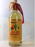 Oro de Oaxaca  Mezcal with Worm 40% ABV 1L