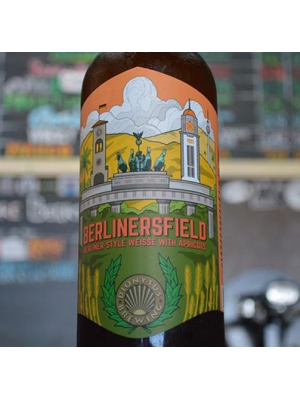 Dionysus Brewing Berlinersfield with Apricots 750ml 4.5% ABV