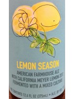 The Good Beer Co. Lemon Season Farmhouse Ale with Meyer Lemon Zest 375ml 5.0% ABV