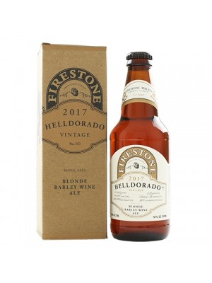 Firestone Walker Helldorado 2017 Barrel Aged Blonde Barley Wine Ale 12oz 12.8% ABV