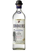 Broker's London Dry Gin 47% ABV 750ml