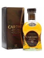 Cardhu 12yr Single Malt Speyside 40% ABV 750ml