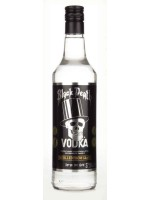 Black Death Vodka France 40% ABV 750ml