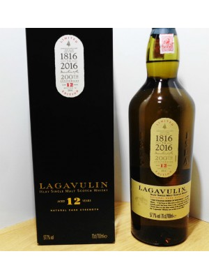 Lagavulin 12 Year Islay Single Malt  200th Anniversary 57.7% ABV 750ml