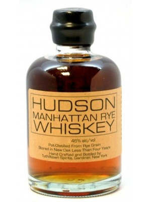 Hudson Manhattan Rye Whiskey 46% ABV 750ml