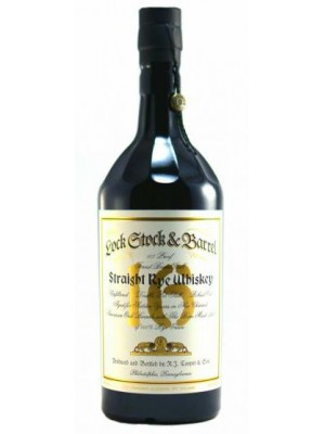 Lock Stock & Barrel 16yr Straight Rye Whiskey 53.5% ABV 750ml