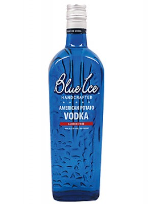 Blue Ice Handcrafted American Potato Vodka 40% ABV 750ml
