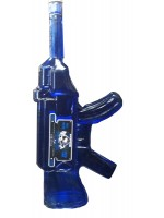 Tequila Institucional Blanco AK-T Gun in a Blue Glass Bottle 40% ABV 1L