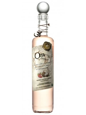OM Organic Mixology Coconut Water & Lychee & Vodka Cocktail 15% ABV 750ml