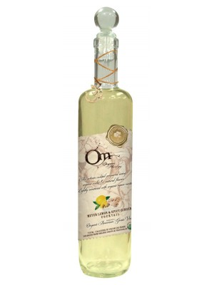 OM Organic Mixology Meyer Lemon & Ginger & Vodka Cocktail 15% ABV 750ml