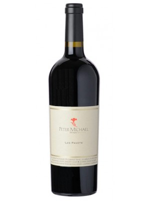 "Peter Michael ""Les Pavots"" Bordeaux Style Blend  2013 15% ABV 750ml"