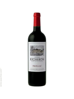 Chateau Richebon Pauillac 2010 13% ABV 750ml