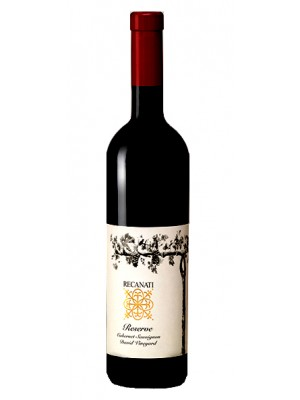 Recanati Cabernet Sauvignon Reserve David Vineyard Galilee 2014 14% ABV 750ml.