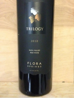 Flora Springs Trilogy 2010 14.5% ABV 750ml
