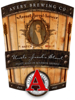 Avery Brewing Co. Uncle Jacob's Stout Bourbon Barrel Aged 12oz 17.1%ABV