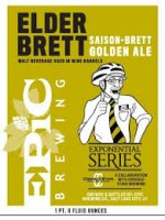 Epic Brewing Company  Elder Brett Saison 22oz