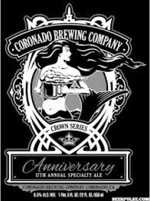 Coronado Brewing Anniversary 17th annual specialty IPA 22oz