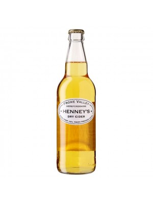 Henney's  Dry Cider 500ml  French Cider 100% Pressed Juice