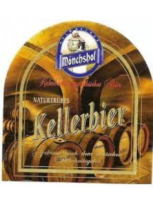 Kulmbacher Mönchshof Kellerbier Unfiltered German Lager 500 ml