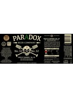 Paradox  Beer Company No.32 Skully Barrel Dry Hopped  Sour Red Ale aged in oak wine barrels  500ml