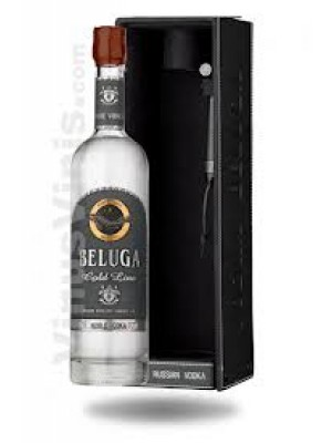 Beluga Vodka Noble Russian Gold Line 40% ABV 750ml