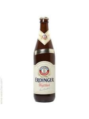 Erdinger Weissbrau Hefe Weizen 500ml btl Bottle Fermanted Germany