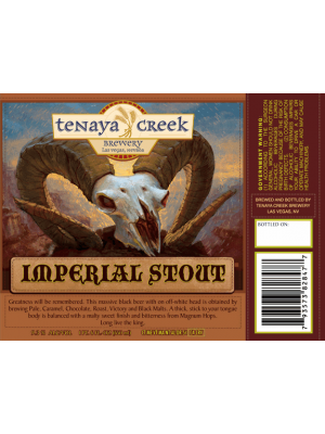 Tenaya Creek Brewery Imperial Stout 22oz 9.3% ABV