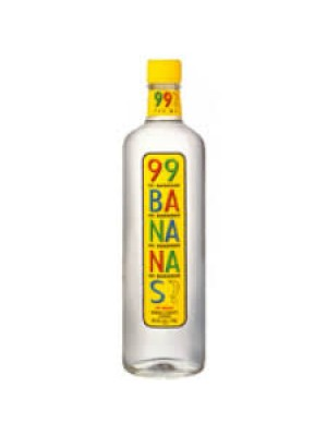 "99 Bananas ""99 Proof"" Banana Liqueur 750ml."