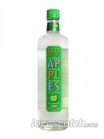 "99 Apples ""99 Proof"" 750ml. Apple Schnapps Liqueur"