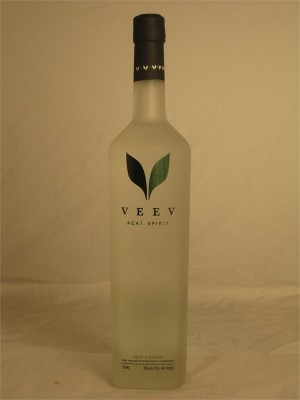 Veev Acai Spirit Liqueur 30% ABV 750ml