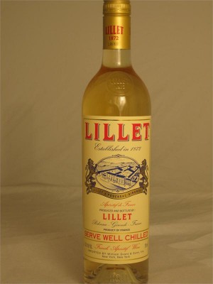 Lillet White Apreitif Wine France 17% ABV 750ml